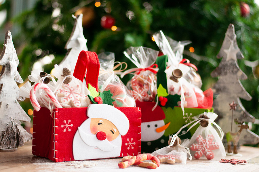 dessert hampers for christmas