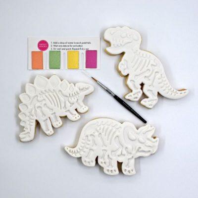 Dinosaur cookies