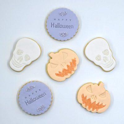 Halloween cookies delivery